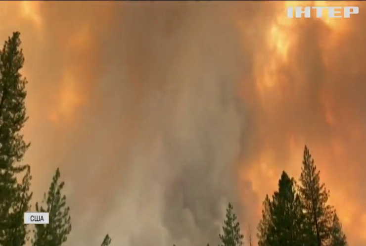 У Каліфорнії евакуюють шість тисяч людей через лісові пожежі