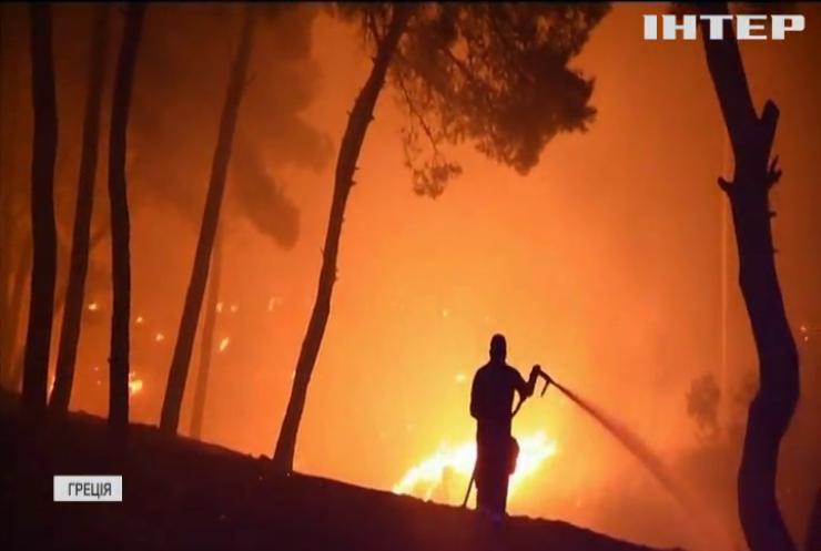 Українські пожежники допомагають гасити вогонь у Греції та Туреччині
