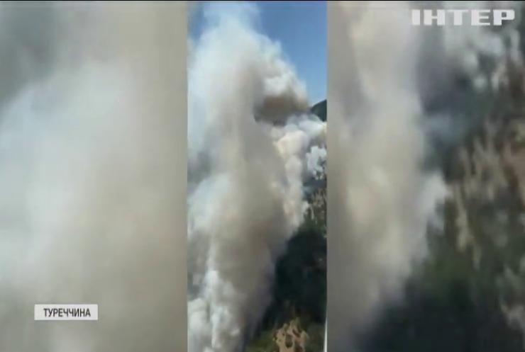 Пожежі у Туреччині визнали наймасштабнішими в історії