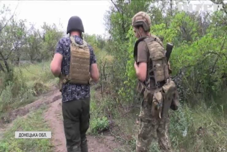 На Донбасі не припиняються обстріли: противник вів вогонь із гранатометів