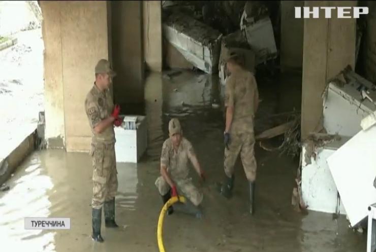 У Туреччині росте кількість жертв руйнівної повені
