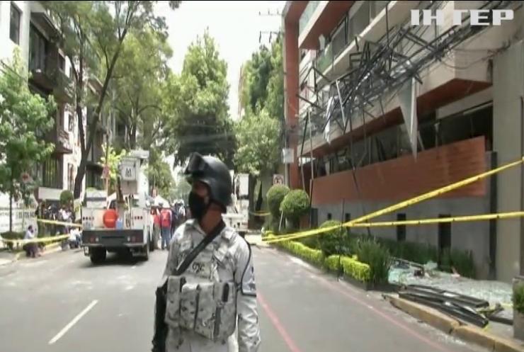 У столиці Мексики вибухнув житловий будинок
