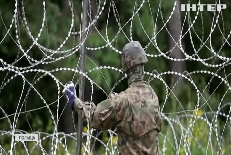 Брюссель заявив, що не виділить кошти на зведення польсько-білоруського паркану