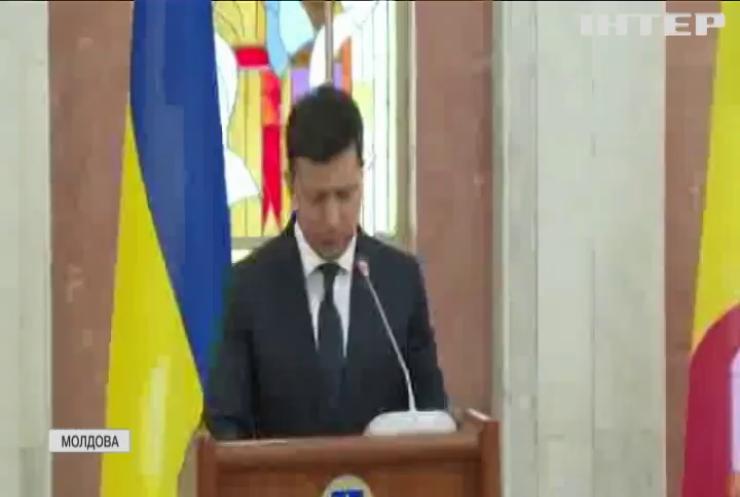 Володимир Зеленський прибув до Молдови з офіційним візитом