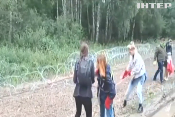 На польсько-білоруському кордоні затримали тринадцять вандалів