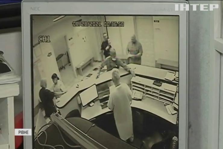 """П'яний пацієнт влаштував """"газову атаку"""" у лікарні Рівного"""