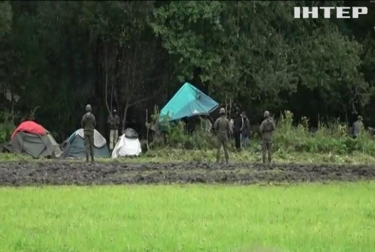 На польсько-білоруському кордоні досі кризова ситуація