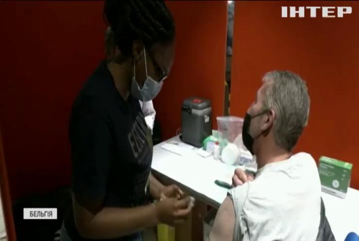 Імунізація в Берліні: щодня у спецпотязі вакцинуються кілька сотень пасажирів