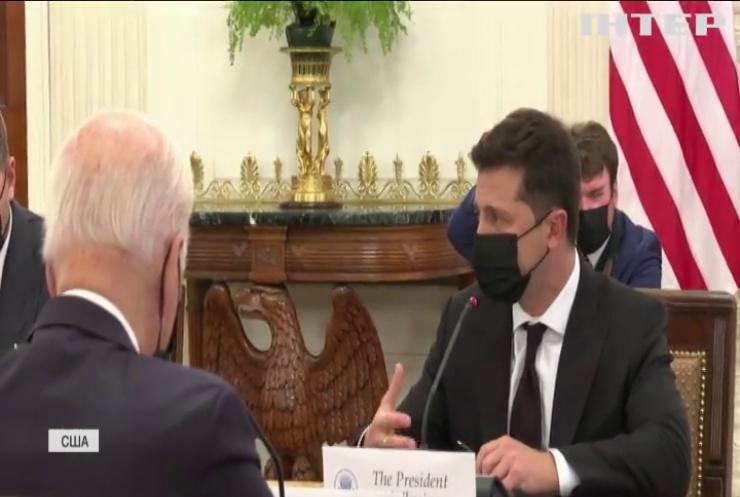 """""""Північний потік-2"""":Байден запевнив, що США не дозволять Росії перекрити транзит"""