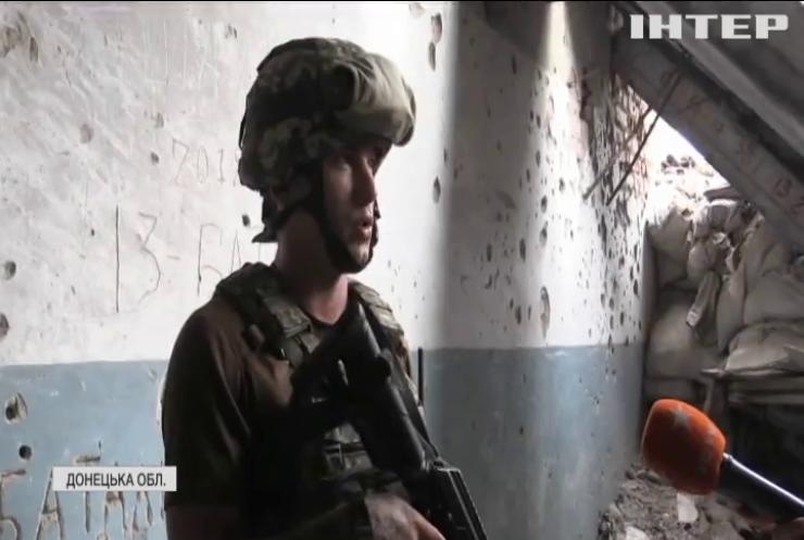 На  Донбасі противник атакував позиції з гранатометів та кулеметів