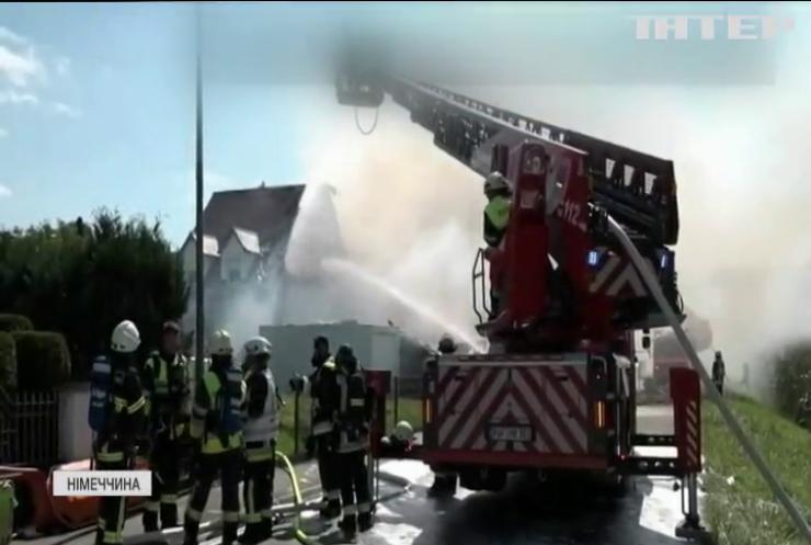 У Німеччині в житловому будинку стався вибух