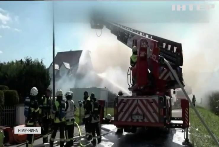 Двоє людей зникли безвісти після вибуху будівлі у Німеччині
