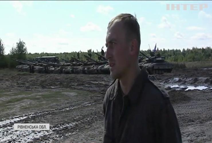 На Рівненському полігоні відбулись танкові змагання