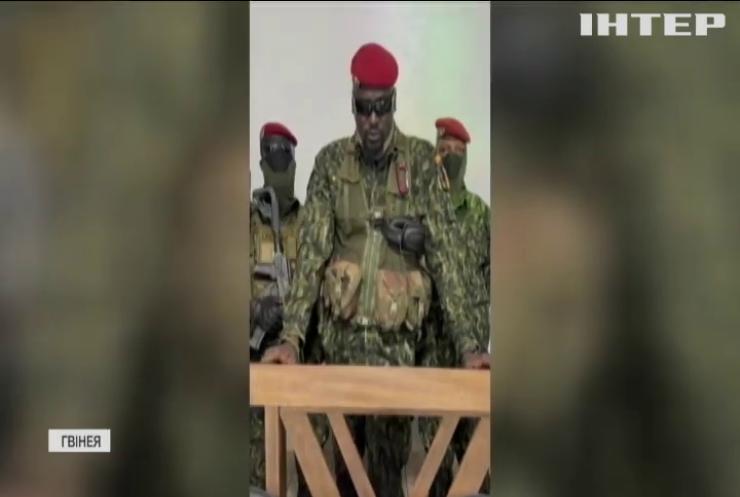 Військові Гвінеї заарештували президента країни