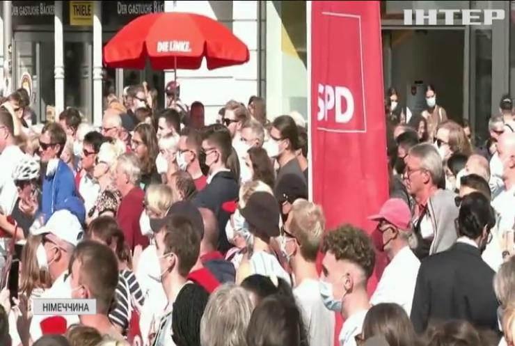 Соціал-демократична партія Німеччини випереджає ХДС Ангели Меркель на п'ять відсотків