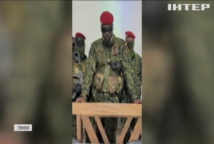 Євросоюз вимагає звільнити президента Гвінеї