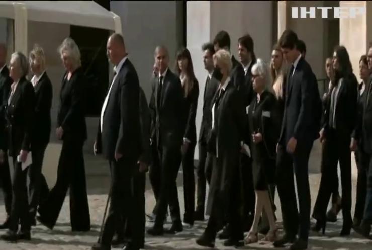 Прощання з легендою: в останню путь провели актора Жана-Поля Бельмондо