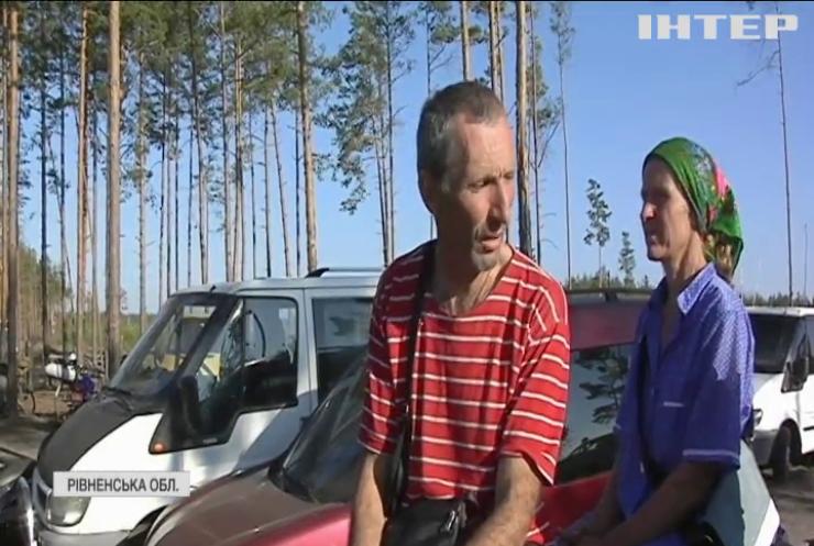 Селяни з Рівненщини ходять до Білорусі по гриби та ягоди