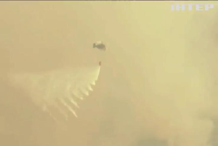 Лісові пожежі вирують на півдні Іспанії