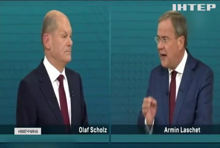 Вибори в Німеччині: відбулися теледебати кандидатів на посаду канцлера