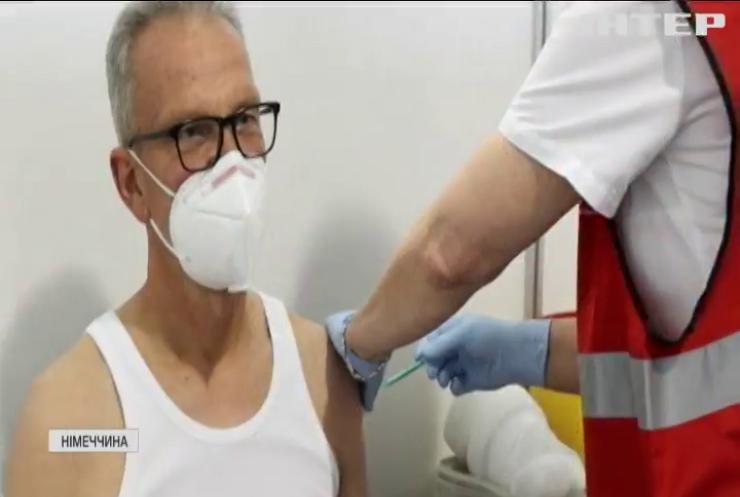 Німеччина розпочинає тиждень загальної вакцинації