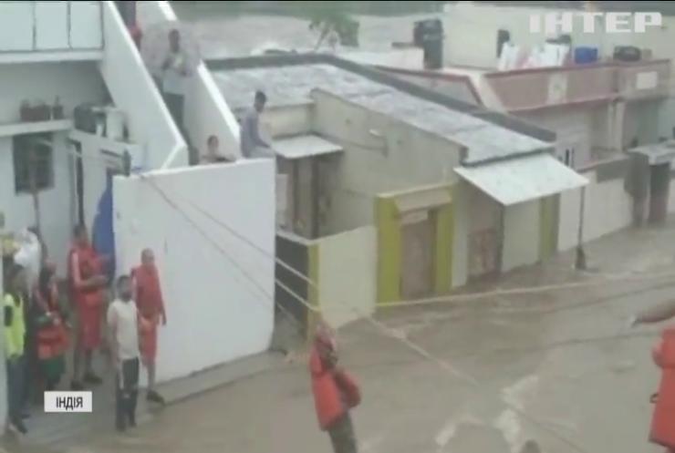 Рясні дощі затопили Індію