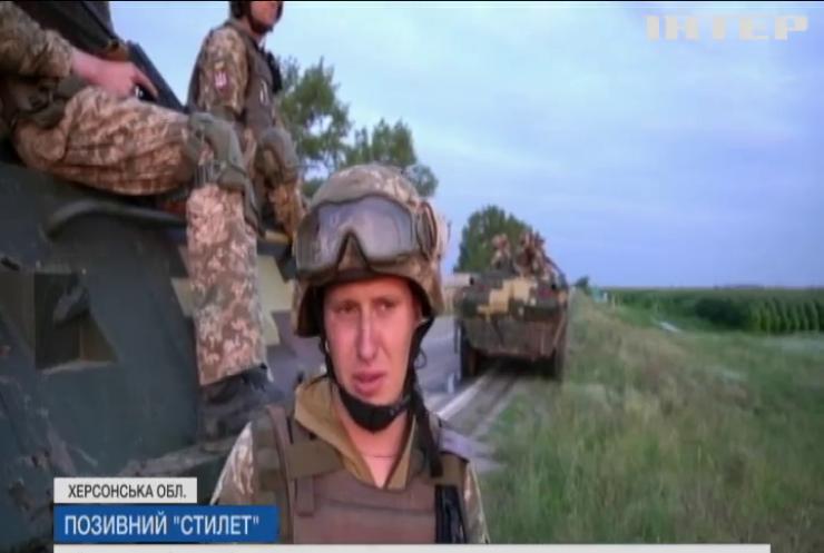 Десантники збройних сил України проходили бойовий вишкіл поблизу Криму