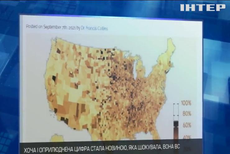У США офіційні показники зараження коронавірусом були занижені уп'ятеро