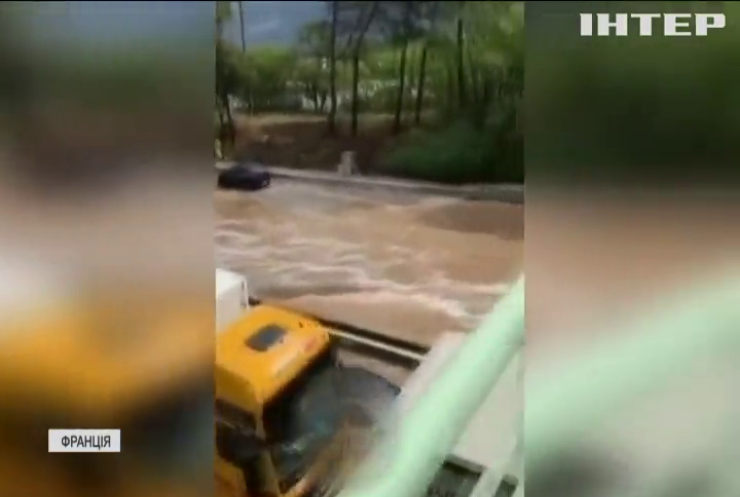 Повені у Франції: за дві години випала двомісячна норма опадів