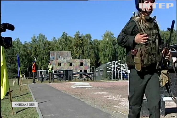 На Київщині в змаганнях обирали найкращих нацгвардійців