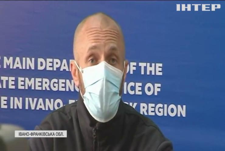 Постраждалих після вибуху у Карпатах доправили до Івано-Франківської клінічної лікарні