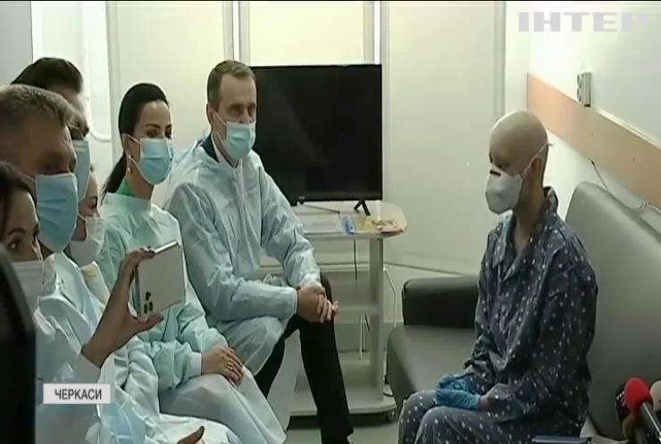 Боротьба за життя: в Черкасах вперше провели успішну операцію з пересадження кісткового мозку від неродинного донора