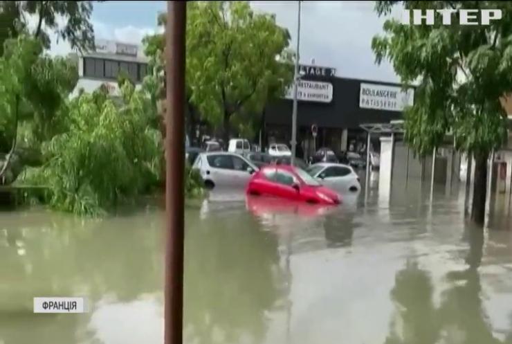 Південь Франції накрила потужна повінь