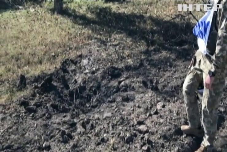 На Донбасі армієць зазнав осколкових поранень