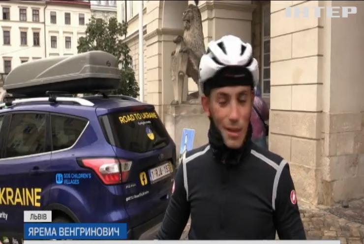 2500 кілометрів на велосипеді: юнак проїхав шлях з Бельгії до України