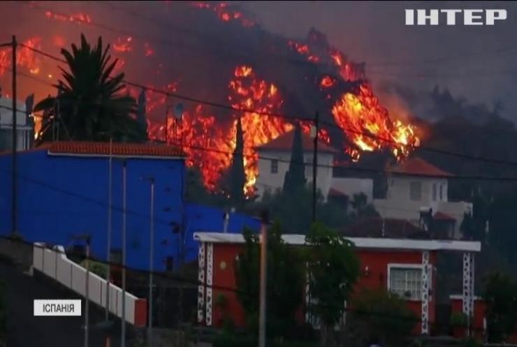 Голова уряду Іспанії вирушив на Канарські острови де триває виверження вулкану