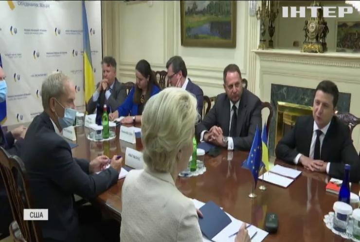 Зеленський обговорив з головою Єврокомісії підготовку до майбутнього саміту