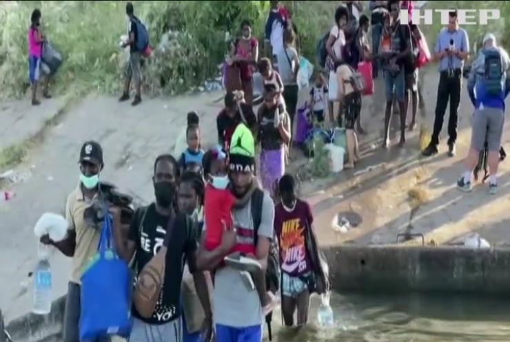 Навала мігрантів: у Техасі нелегали розгорнули величезний табір
