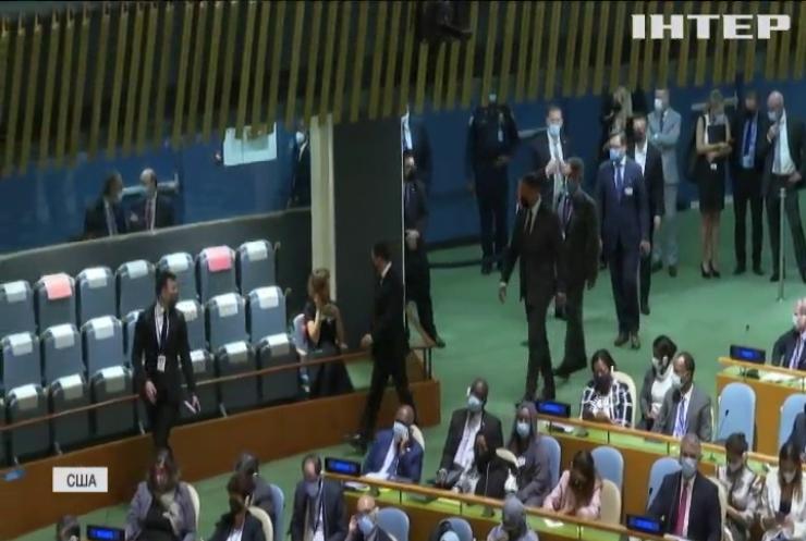 Генасамблея ООН: українська делегація планує покинути Нью-Йорк одразу після виступу президента