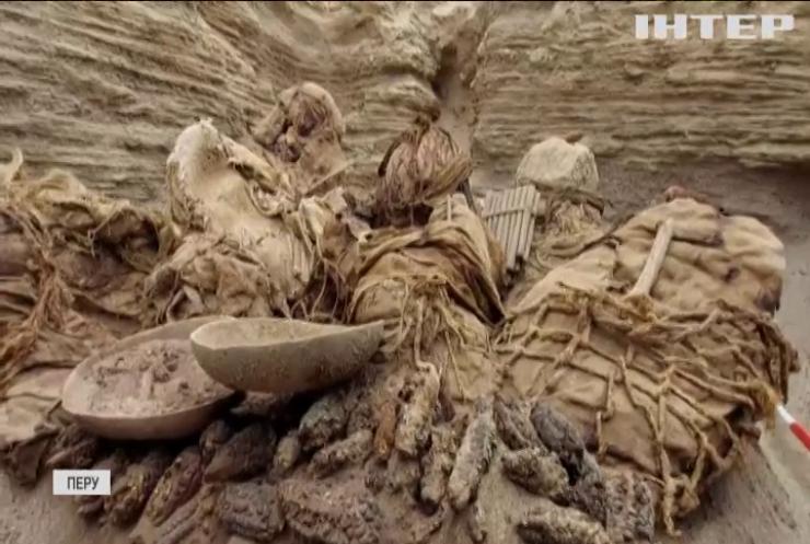 Будівельники Перу знайшли давнє 800-річне поховання