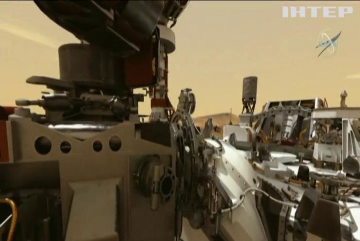 """Марсохід """"Персеверенс"""" добув другий зразок марсіанського ґрунту"""