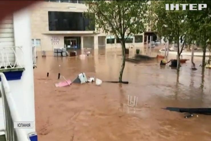 Іспанія потерпає від злив та паводків