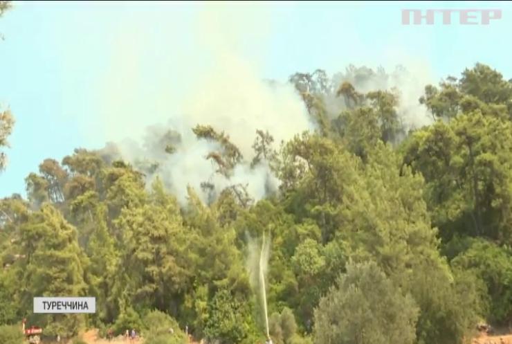 У Туреччині знову вирують лісові пожежі