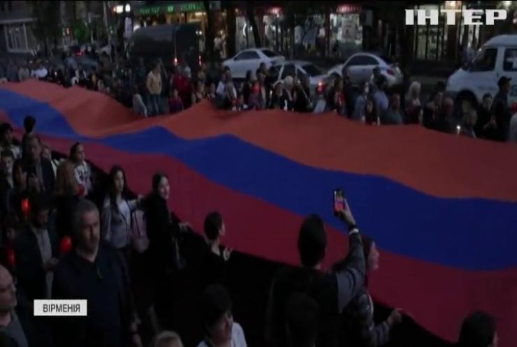Вірмени вшанували пам'ять жертв війни у Карабаху