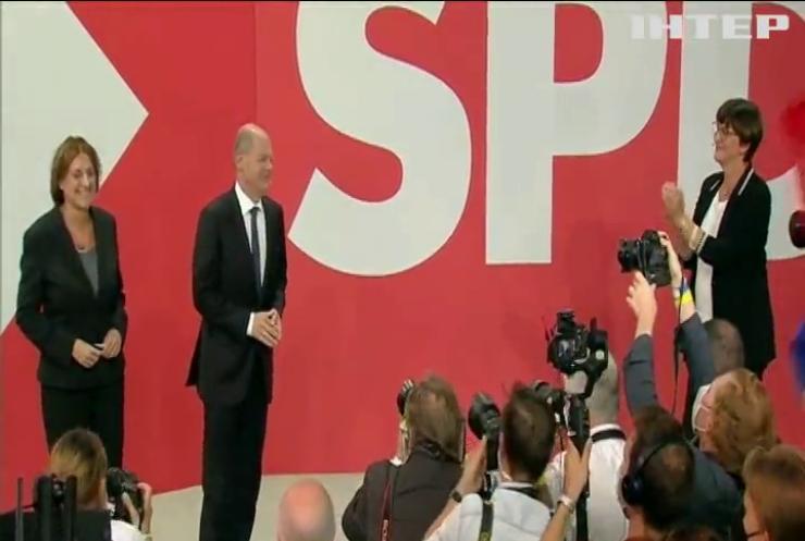 Соціал-демократична партія Німеччини перемагає на парламентських виборах