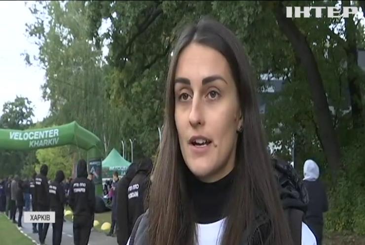 Забіг у Харкові: учасники збирали кошти на мото-приставки до інвалідних візків