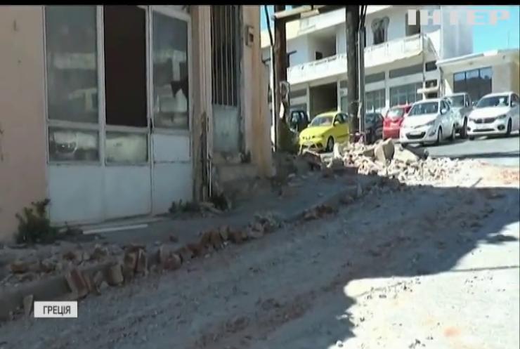 Землетрус у Греції вбив людину
