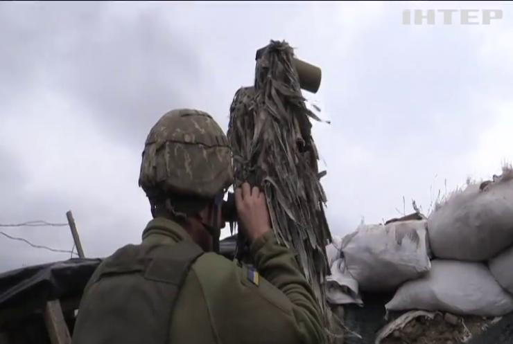 Війна на Донбасі: дві ворожі атаки було на фронті минулої доби
