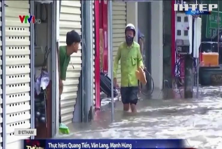 Тропічний шторм обрушився на В'єтнам