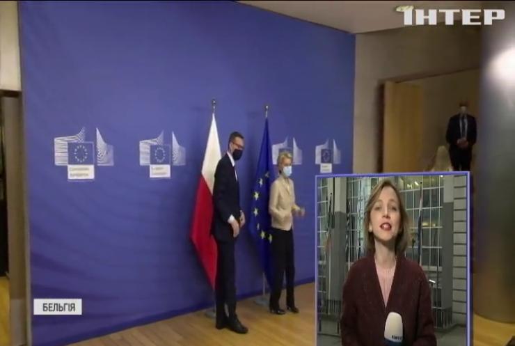 Польський прем'єр заявив, що не збирається виводити країну з Євросоюзу